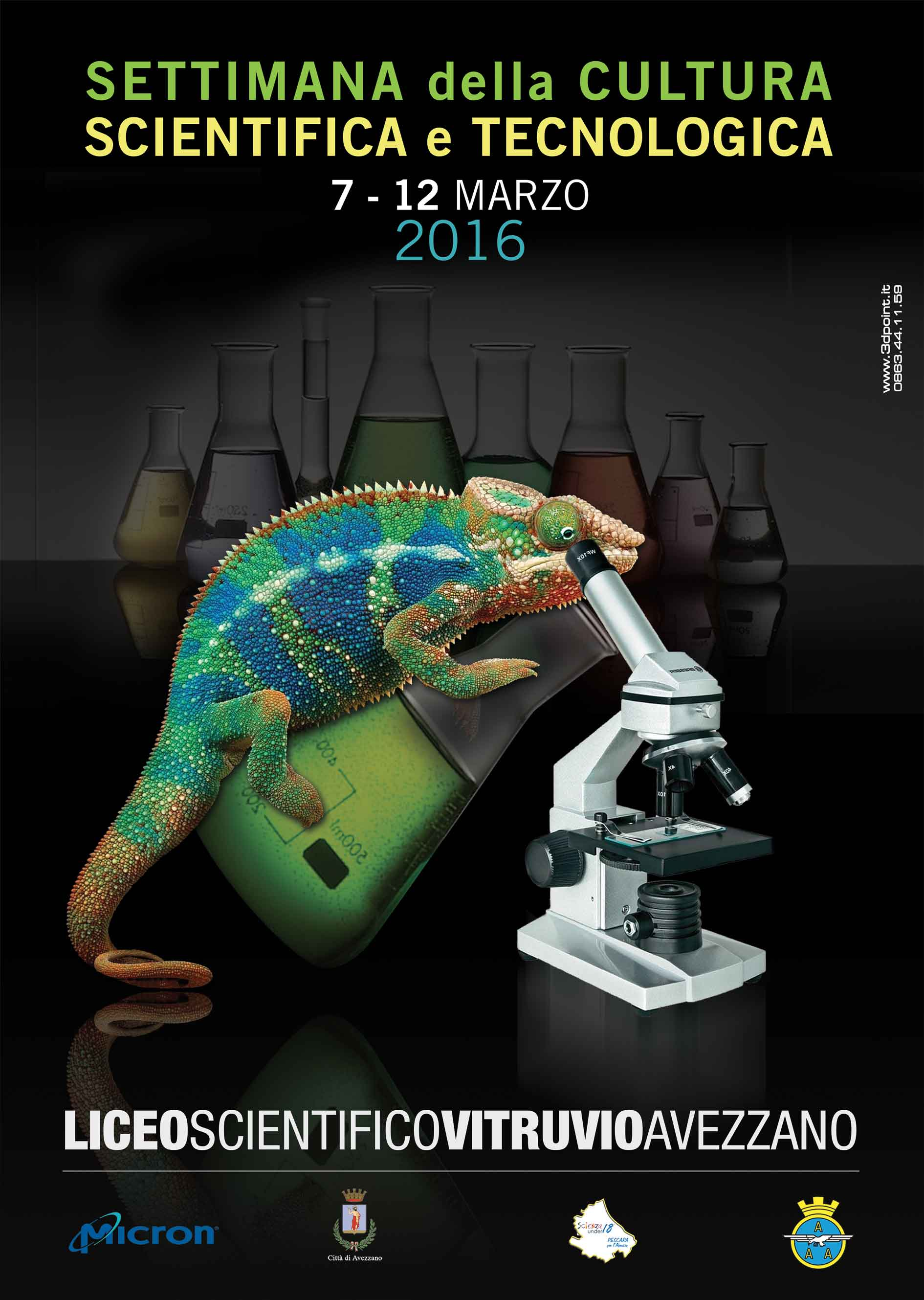 SETTIMANA CULTURA SCIENTIFICA 2016